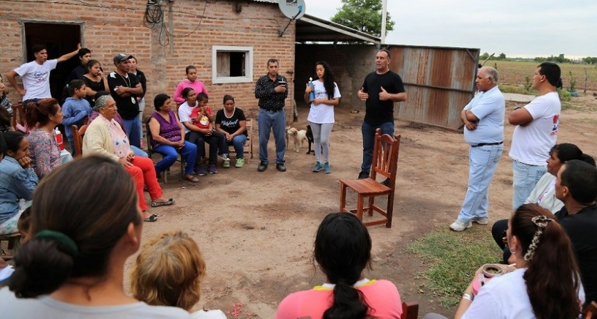 Daniel Capitanich busca fortalecer la Agricultura Familiar