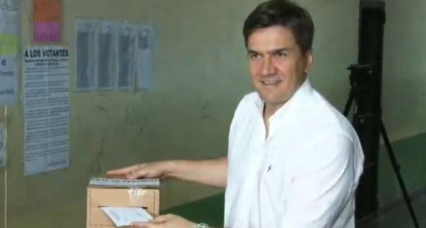 Leandro Zadro cumplió su deber cívico en Resistencia
