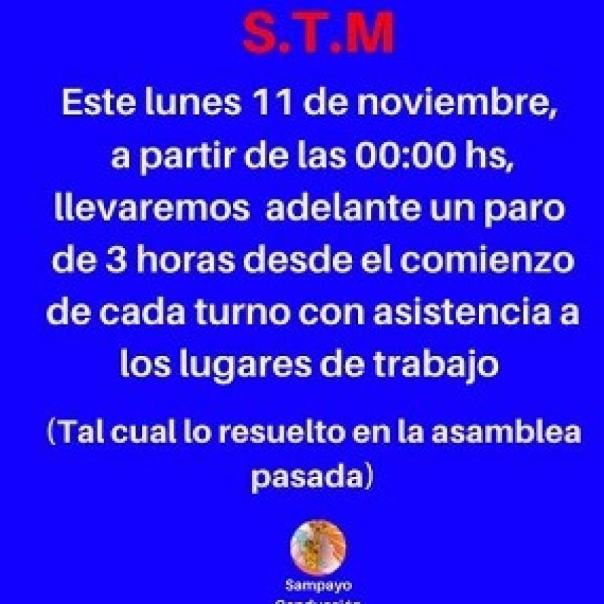 El Sindicato de Trabajadores Municipales de Resistencia convocó a un paro de actividades para mañana 11 de noviembre