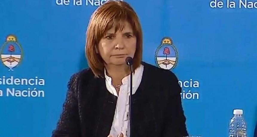 Bullrich confirmó que ingresaron al país funcionarios de Evo Morales como turistas