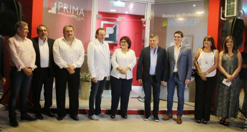 Se inauguró hoy el Nuevo Banco de Prótesis del INSSSEP