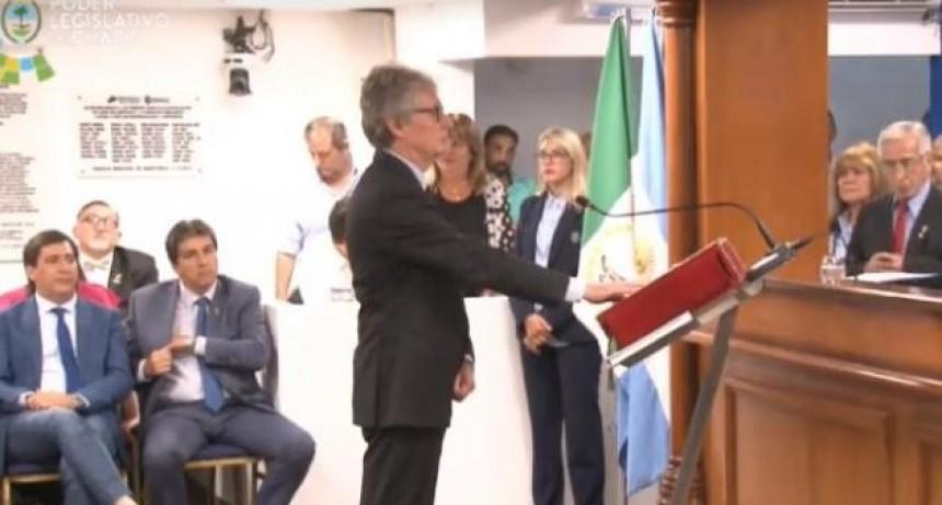 Hugo Sager contó con los votos suficientes y es el nuevo Presidente de la Cámara de Diputados Provinciales