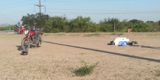 Barranqueras: Perdió el control de su motocicleta y falleció tras caer al suelo
