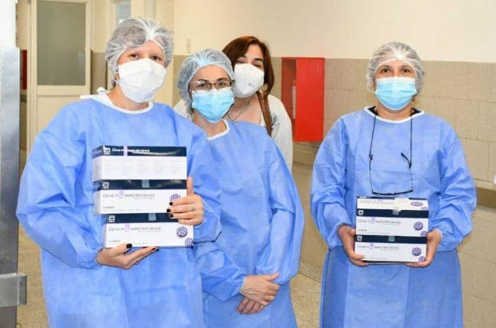 Charata: Salud Pública entregó equipamiento técnico al laboratorio del hospital Llamas