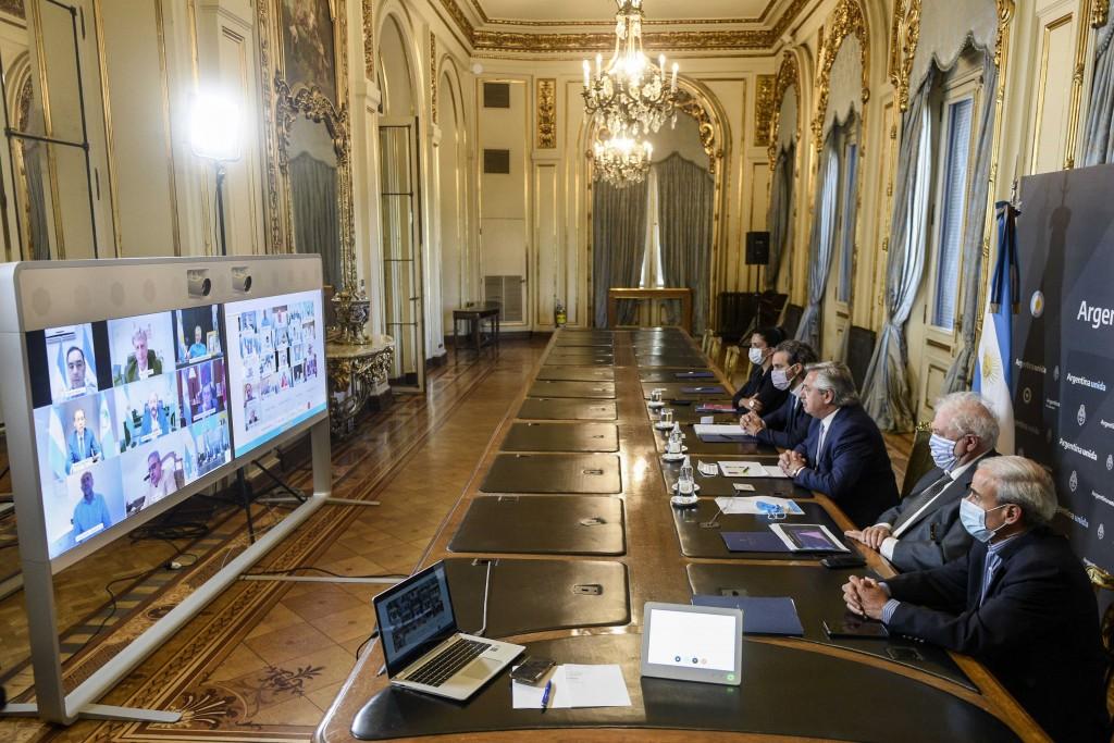 El gobernador Capitanich participó de la videoconferencia del Presidente con gobernadores y gobernadoras