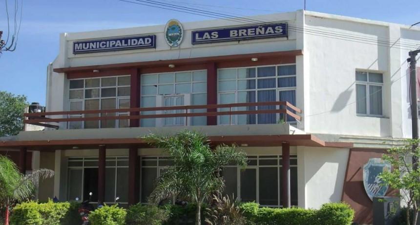 Cierran la Municipalidad de Las Breñas por un caso positivo de coronavirus