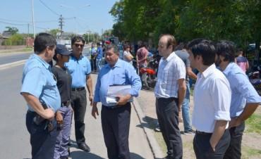 El municipio verificó cumplimiento de normas por parte de motociclistas