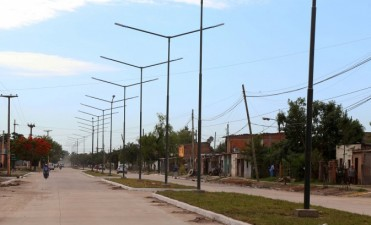 Capitanich inaugurará hoy 16 cuadras  de pavimento urbano en avenida Edison