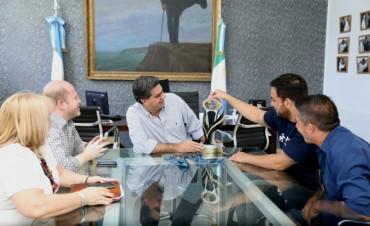Capitanich recibió al deportista Ramiro Cardozo que obtuvo una medalla dorada en el Mundial de Para Jiu Jitsu