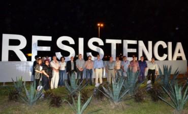 En vísperas del Día de la Inmaculada Concepción, Capitanich habilitó obras en el acceso Norte a Resistencia