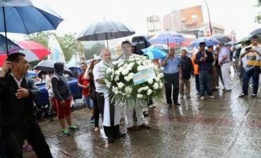 Día de la Inmaculada Concepción de la Virgen María: Capitanich participó de la recepción de los peregrinos en la Catedral