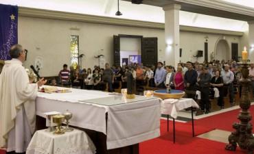 Capitanich participó de la misa central en honor a la Inmaculada Concepción de la Virgen María