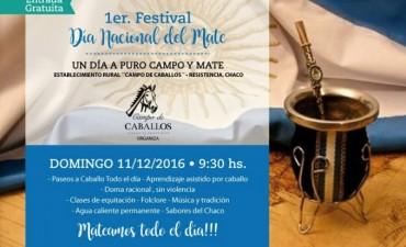 TURISMO INVITA A PARTICIPAR DEL 1° FESTIVAL POR EL DÍA NACIONAL DEL MATE
