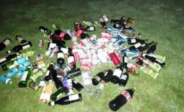 Inspección municipal detectó y decomisó bebidas alcohólicas en fiesta de recepción