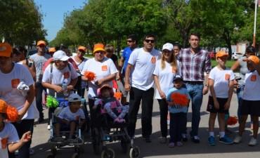 Decenas de niños participaron de la maratón Avanzando Juntos