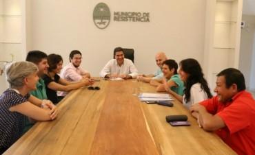 Avanza proyecto de recuperación y ampliación del espacio público en el Mujeres Argentinas