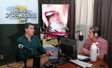 El intendente Jorge Capitanich en vivo en Charlas en Radio