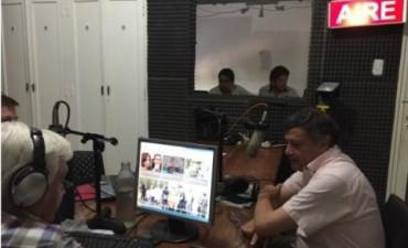 """El gobernador de la provincia Oscar Domingo Peppo en vivo en el estudio """"Manolo Bordón"""" de Radio Argentina en """"Chaco en Línea"""""""