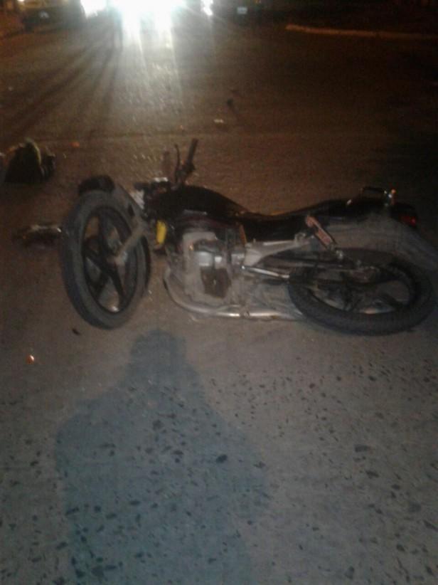 23.15 Hs. Grave accidente de tránsito en Roque s. Peña y Toledo.