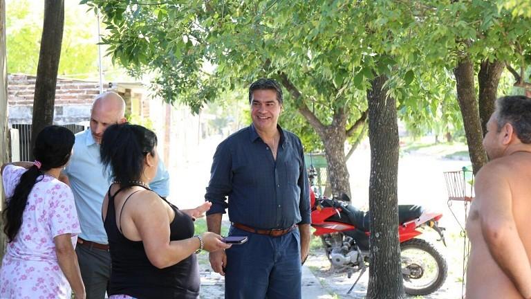 Capitanich verificó las obras de pavimento urbano que se inauguran esta semana