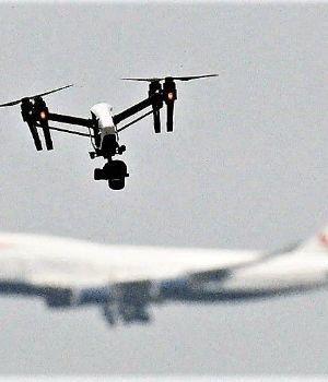 Aeropuerto de Londres reabre tras ataque de drones