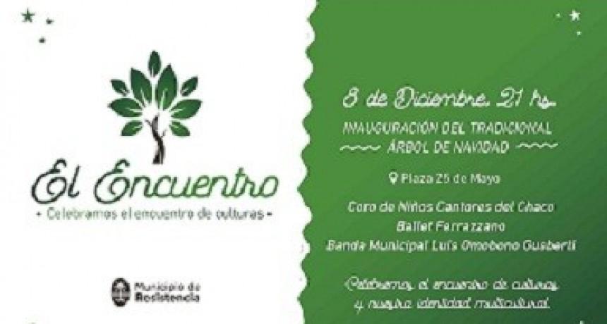 El Municipio de Resistencia invita a la inauguración del Árbol Navideño