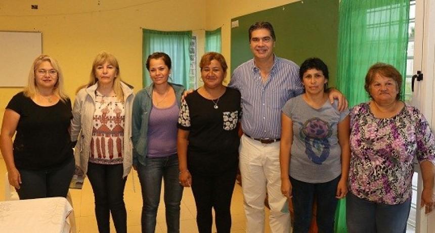 Capitanich brindó respuestas a diversas demandas de los vecinos de los barrios Santa Inés y San José Obrero