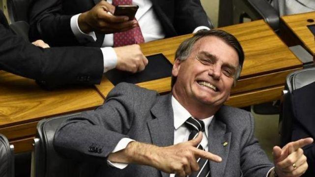 Bolsonaro, feliz porque Lula sigue en la cárcel