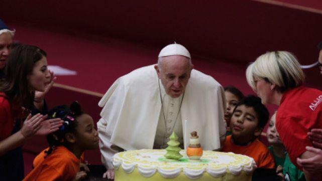 Francisco festejó su cumple por adelantado