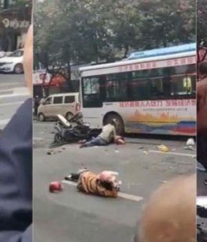 Secuestró micro lleno de pasajeros para atropellar peatones: Ocho muertos