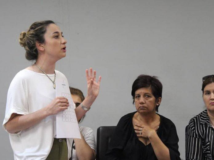 """Maria Pia Chiacchio Cavana: """"Nuestra política central será la lucha contra la pobreza, el hambre y la indigencia"""""""