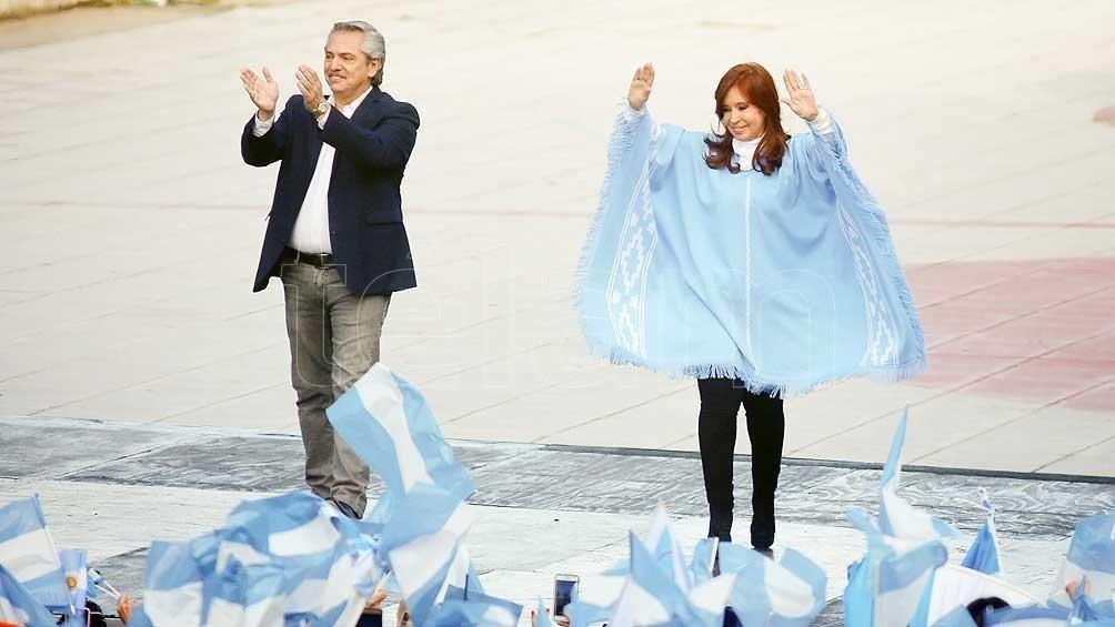 Alberto Fernández y Cristina Kirchner juran ante la Asamblea Legislativa