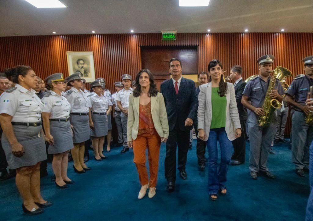 El Gobernador ratificó en sus cargos al jefe y al subjefe del Servicio Penitenciario