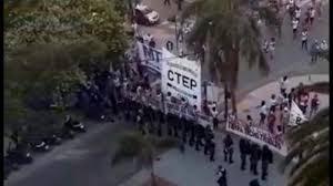 Manifestaciones Sociales: El Gobierno intervino cumpliendo con el Protocolo Garré