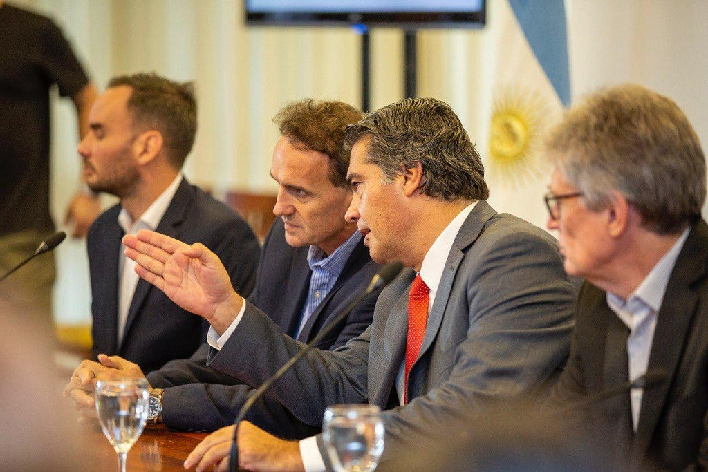 Capitanich y Katopodis firmaron un convenio para garantizar la ejecución de obras prioritarias para el Chaco