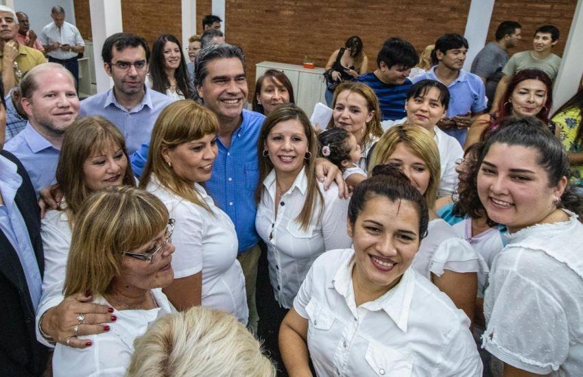 Capitanich inauguró refacciones en el Registro Civil del Hospital Perrando