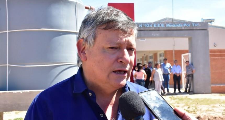 """Domingo Peppo: """"Dejamos para El Impenetrable obras que garantizan el acceso de agua"""""""
