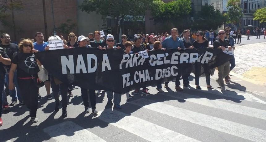 El Municipio participó de la marcha en el Día Internacional de las Personas con Discapacidad