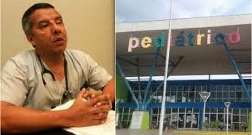 Empleados del Hospital Pediátrico de Resistencia reclaman por pases a planta