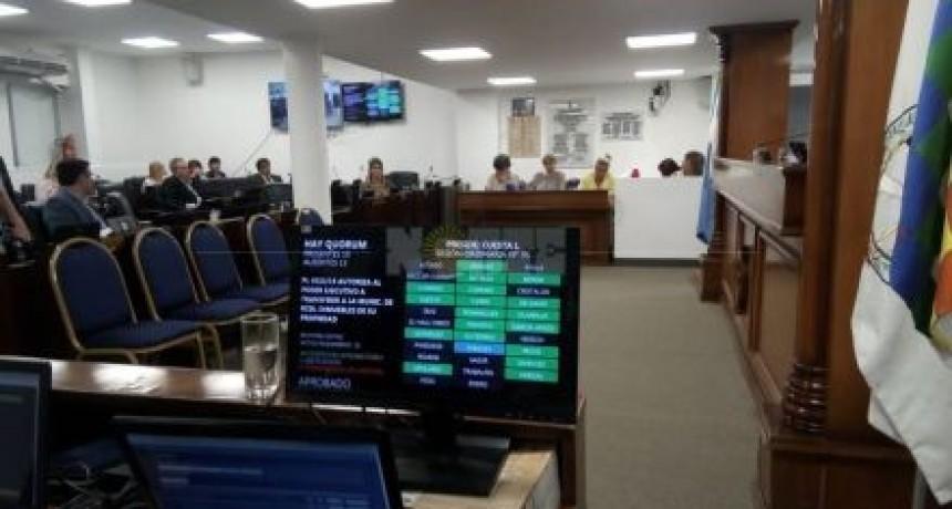 Se aprobó esta mañana una ley que autoriza a transferir una gran cantidad de inmuebles a la capital chaqueña