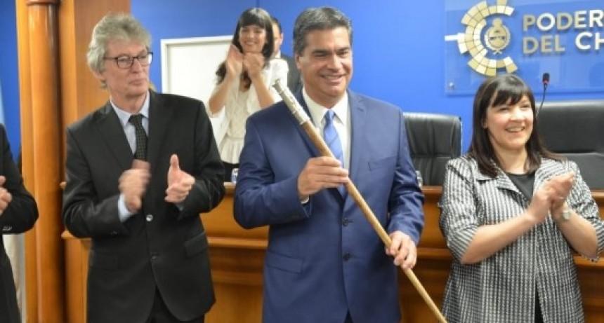 Juraron Jorge Capitanich y Analía Rach Quiroga como gobernador y vice gobernadora del Chaco