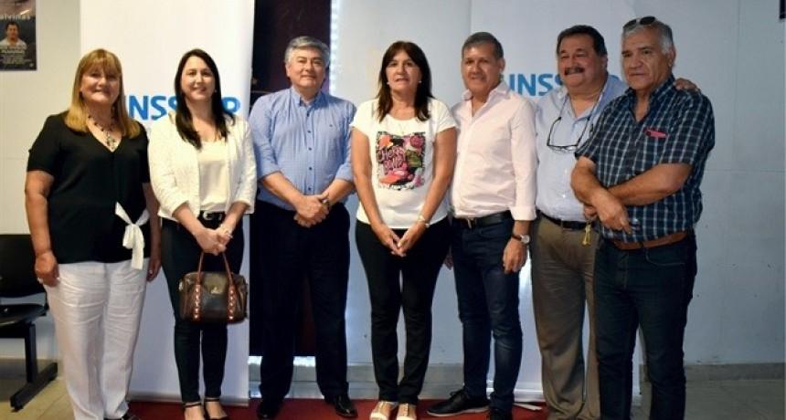 Antonio Morante asumió como Presidente del INSSSEP