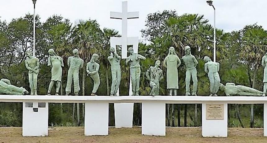 Vigilia por el día de la conmemoración a los caídos en la Masacre de Margarita Belén