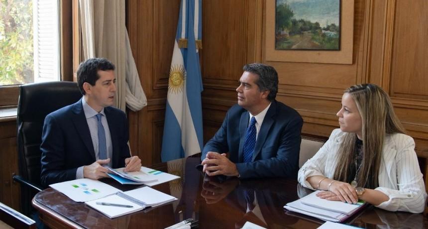 Jorge Capitanich participó de una Mesa de Trabajo junto a funcionarios nacionales