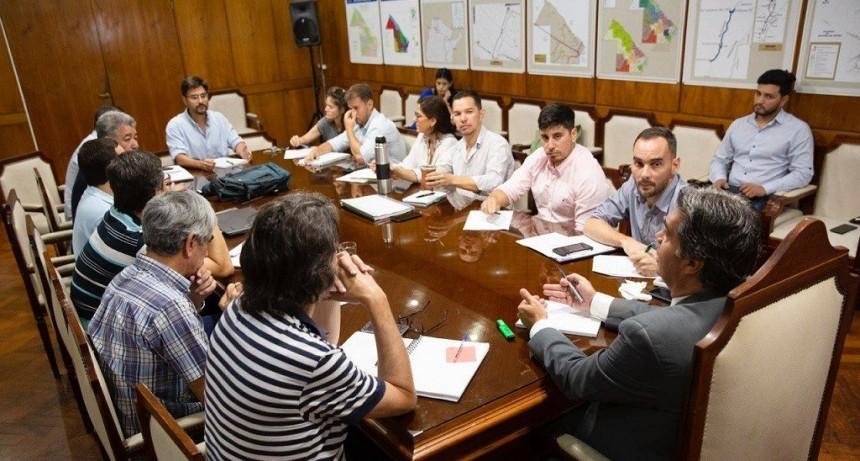 El Gobernador del Chaco trazó una agenda de trabajo junto a los titulares de: SAMEEP, SECHEEP y Vialidad Provincial
