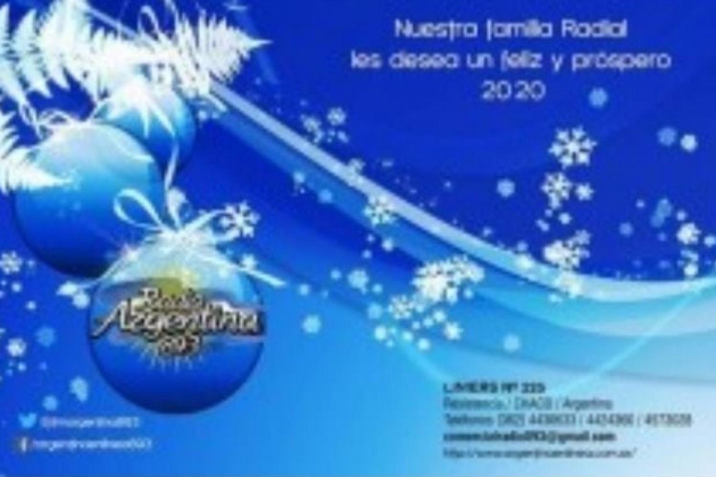 Radio Argentina les desea a todos sus oyentes y lectores una muy Feliz Navidad