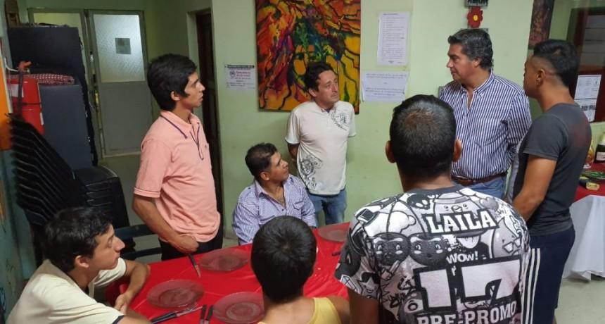Capitanich participó del festejo de Navidad con niños, niñas y adolescentes que residen en instituciones de Desarrollo Social