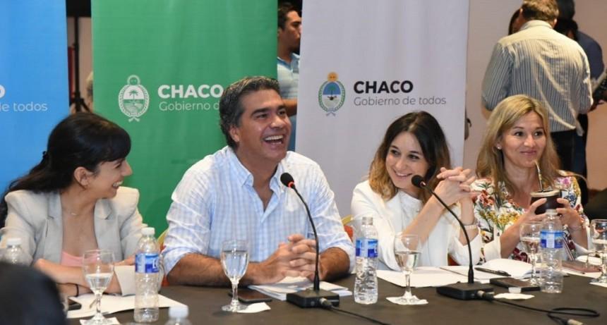 Jorge Capitanich dio inicio al Consejo Provincial de Políticas Sociales