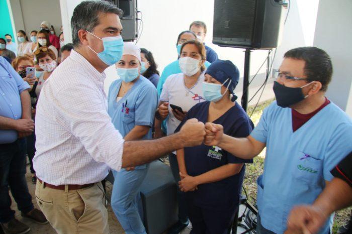 Fortalecimiento del sistema sanitario: Capitanich inauguró la refacción integral del hospital de Charata