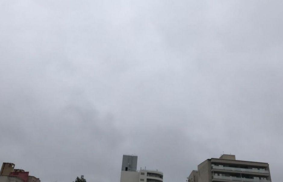 Lunes gris y nublado, pero sin pronóstico de lluvias